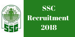 SSC Jobs Recruitment 2018 - Stenographers Grade-C and D Posts