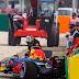 F1: Ricciardo admite que el choque de clasificación lo sorprendió
