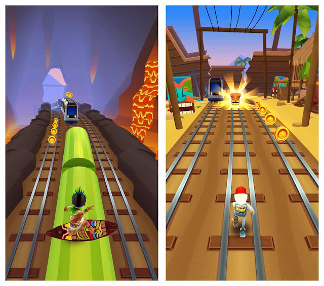 subway surfers hawaii unlimited coins and keys
