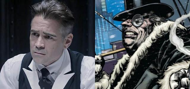"Colin Farrell considera 'The Batman' como ""novo e autêntico"""