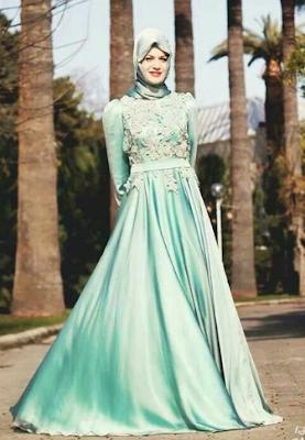 Foto Model Baju Gamis Terbaru 2017