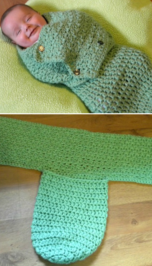 Swaddling Baby Cocoon - Free Pattern