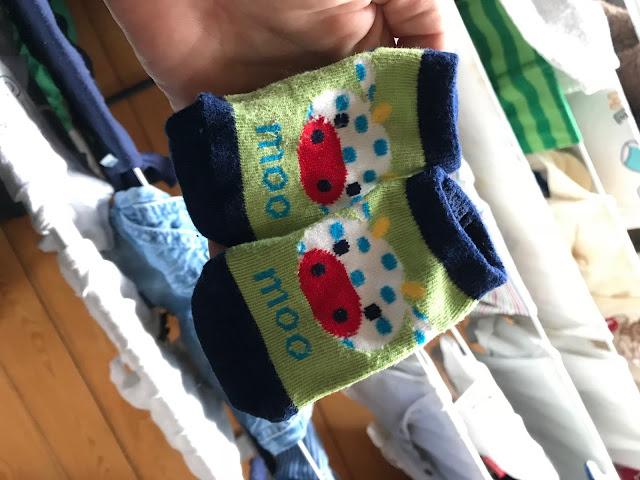 Babysöckchen für das Knubbelchen