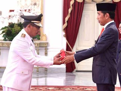 Nathaniel Orno Resmi Pimpin Maluku Periode 2019-2024