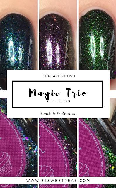 Cupcake Polish Magic Trio