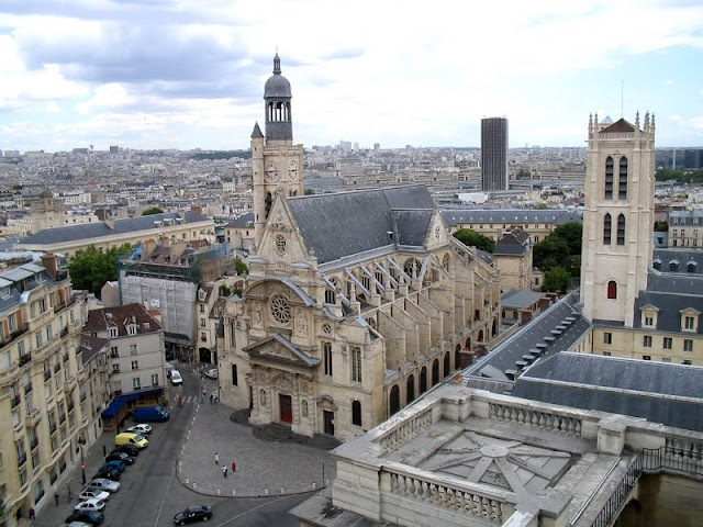 Vista do Panthéon