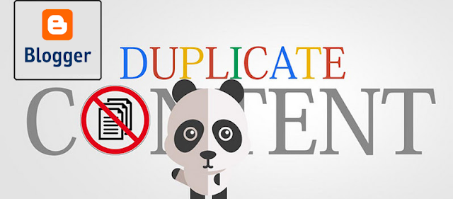 SEO Fix duplicate Content in Blogger | IMFROSTY.com