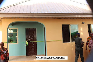 Ebelechukwu Obiano Builds 2-Bedroom Bungalow for Widow