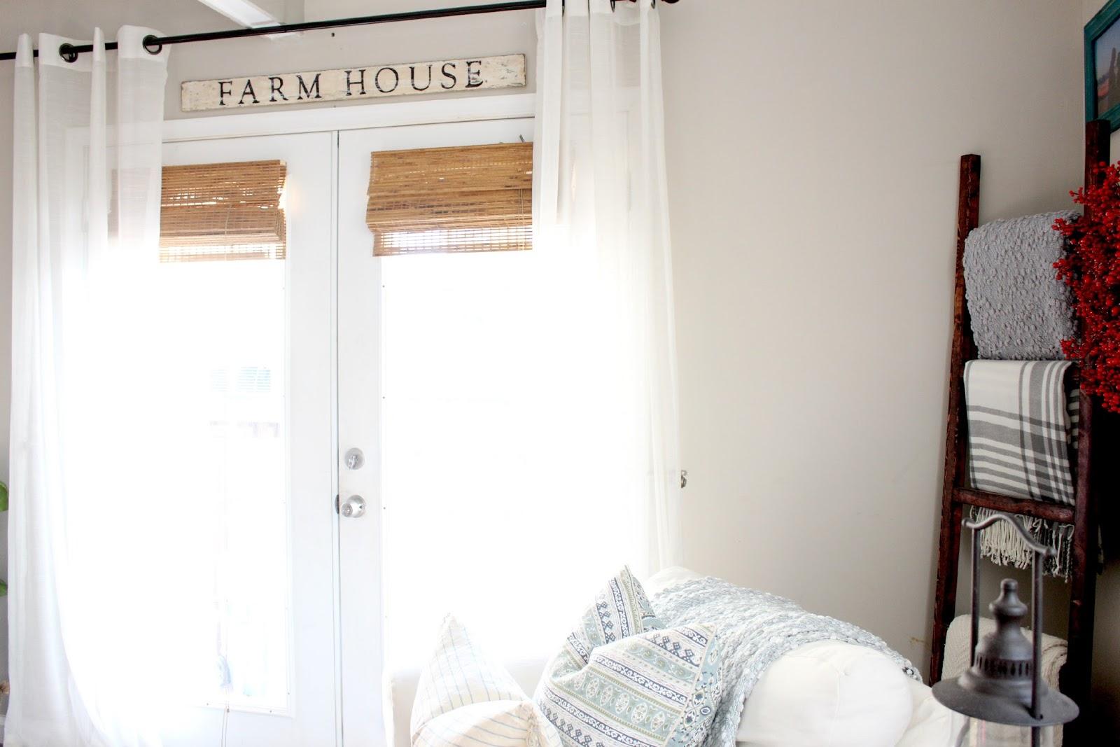 The Glam Farmhouse Living Room Tour The Glam Farmhouse