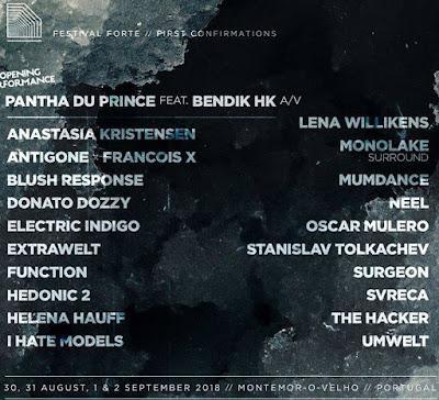 FESTIVAL FORTE 2018 / Montemor-O-Velho, POR [30-31.08//01-02.09]