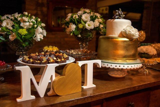 decoracao metalica em casamento