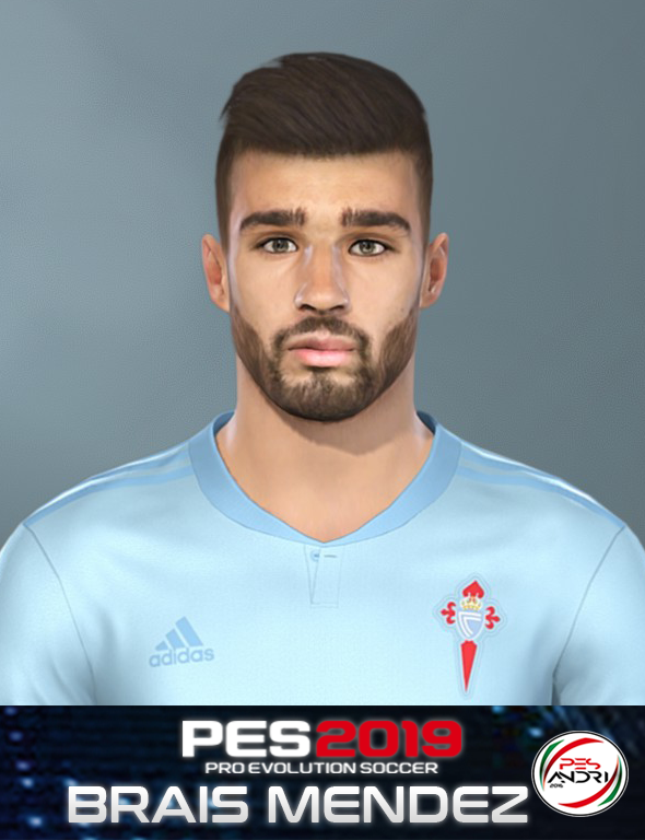 PES 2019 Brais Mendez Face By Sofyan Andri