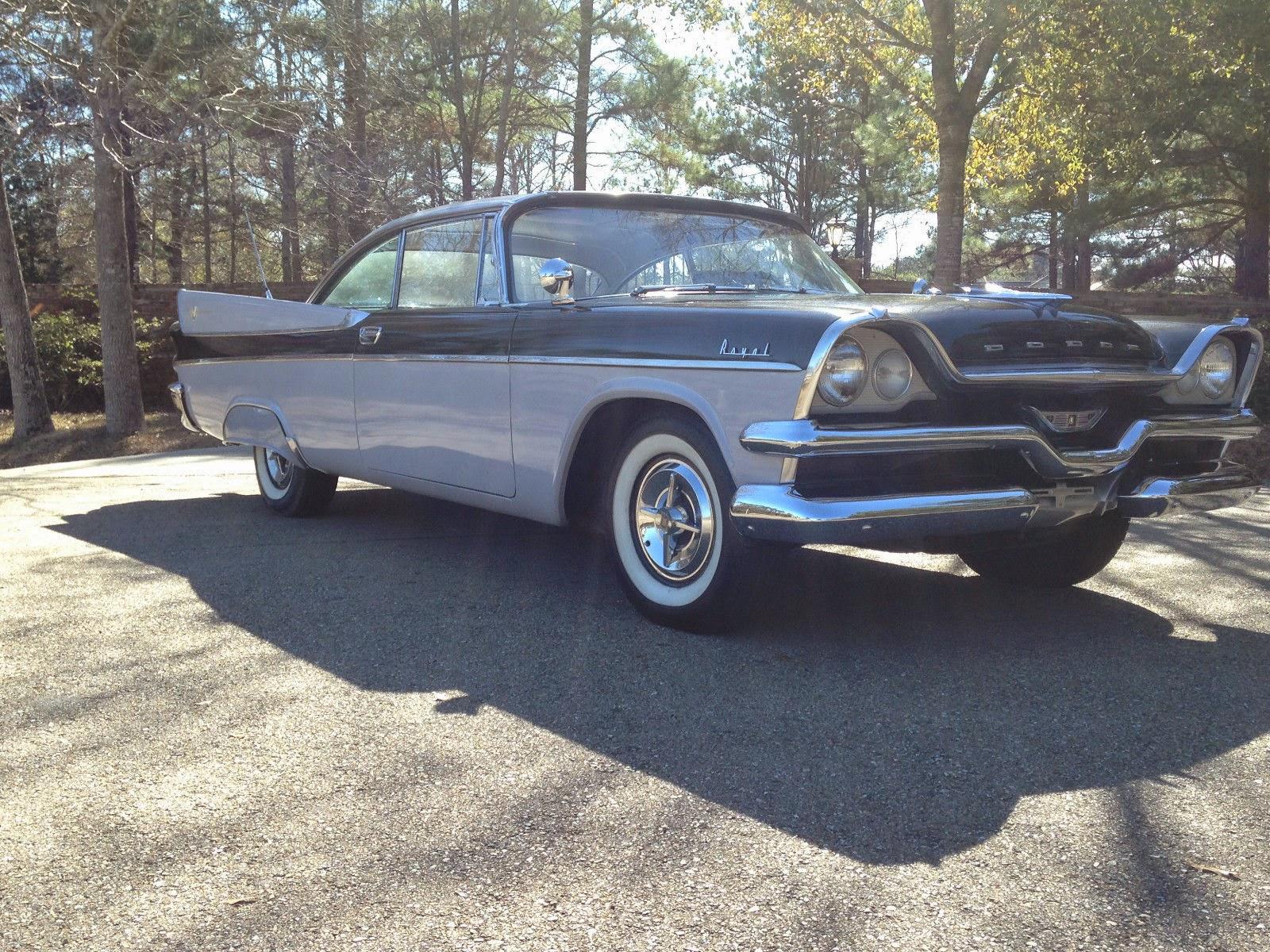 all american classic cars 1957 dodge royal lancer 2 door. Black Bedroom Furniture Sets. Home Design Ideas