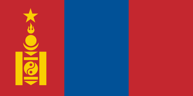Flag of Mongolian People's Republic