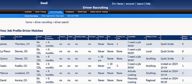 garys_job_board_truck_driving_job_ recruiting_page Safety as a Service Truck Driver Recruiting Screen