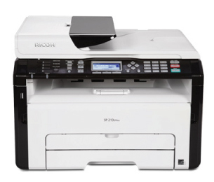 SF printer is used inwards the society business office Ricoh SP 210SF Driver Download