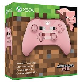 Minecraft Microsoft Pig Xbox Wireless Controller Gadget