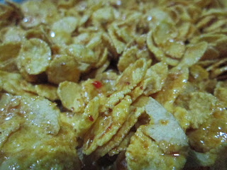 cornflakes honey