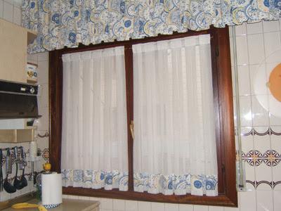 Decoraciones y hogar modernas cortinas para la cocina - Visillos para cocina ...