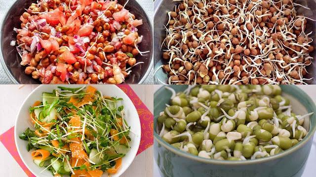 अंकुरित चने के चमत्कारी फायदे | sprouted chickpeas
