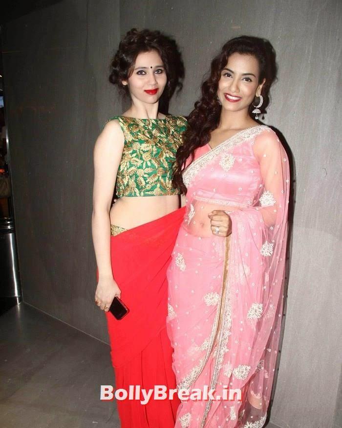 Sasha Agha, Tia Bajpai, Tia Bajpai in Pink Saree - 'Desi Kattey' Movie Actress hot Pics