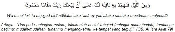 4 Keutamaan Sholat Tahajud Yang Dijelaskan Dalam Al Quran