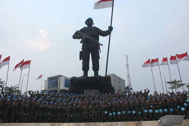 Penutupan Pratugas Satgas Kizi TNI Konga XXXVII-C/Minusca