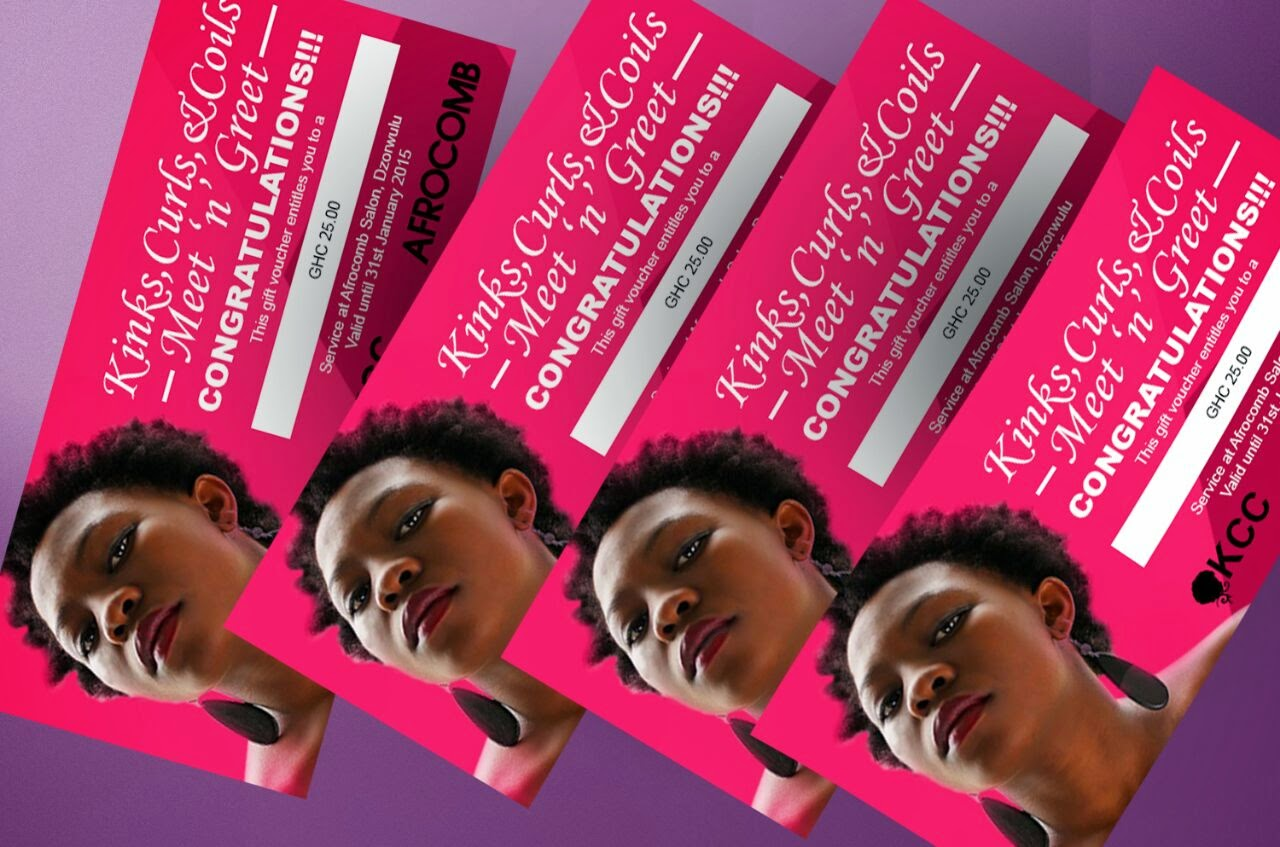 Kinks, curls & coils gift voucher