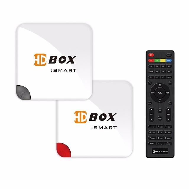 HDBOX ISMART HD ATUALIZAÇÃO V2.0 - 01/08/2017