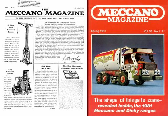 Meccano Magazine 1916 - 1981