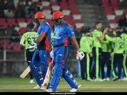 Afghanistan vs Ireland T20 live, highlight