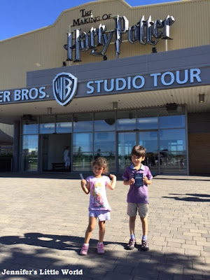The Warner Bros Harry Potter Studio Tour