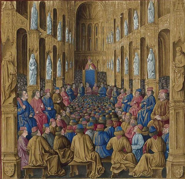 Urbano II no concilio de Clermont