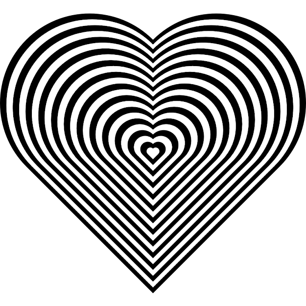 Unbelievable Zebra Print Heart Coloring Page With Coloring Pages Of Hearts  And Coloring Pages Of Hearts