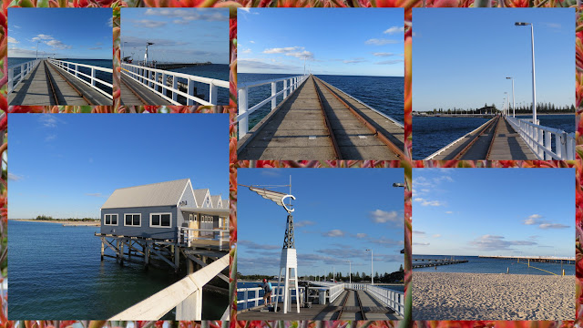 Busselton Jetty is a good place to stretch your legs on a road trip from Perth to Margaret River