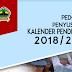 Download Kalender Pendidikan Tahun 2018/2019 Jawa Tengah