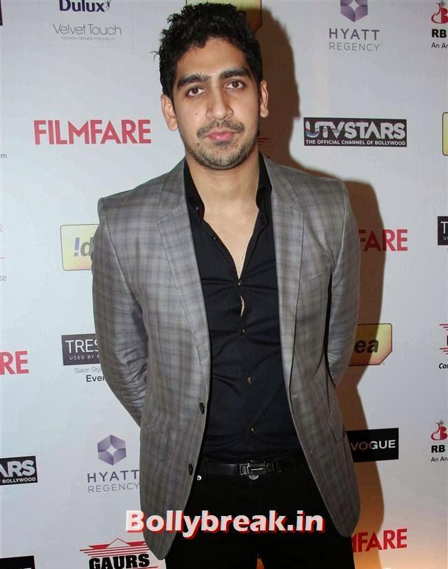 Ayan Mukherjee, Bollywood Actors at 59th Filmfare Pre Awards Party