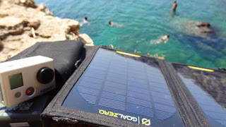 Solar Charger for USB GoPro Port - GoalZero