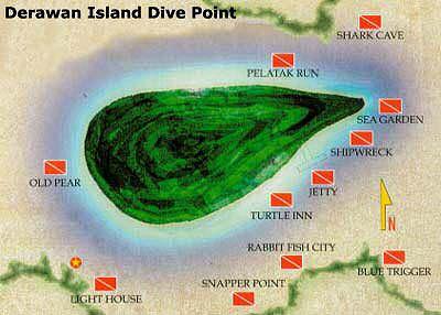 Derawan Island Diving Destination