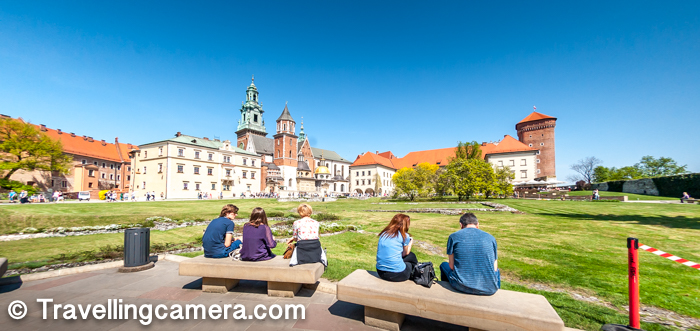 When I think about Krakow town in Poland and some of it's main places to explore, Wawel Castle certainly comes as one of the top options in my mind. The grandness and the location makes it very special. Not only that, the castle houses different kinds of architectures and landscapes which makes it's a unique place to visit & explore in Krakow town. This blog-post talks about Wawel Castle, how to reach this place, things to do inside, free vs paid things to explore and places which can be missed etc.