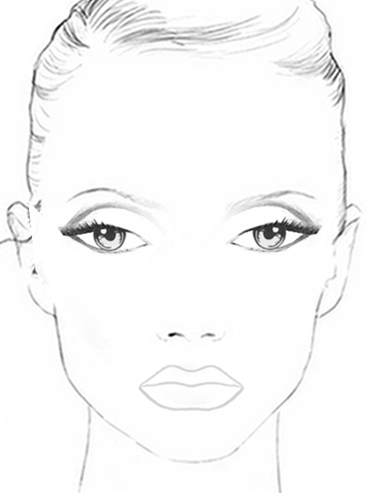 Glamazonallure mrs jenel boston aka mrs broadcaster for Blank face coloring page