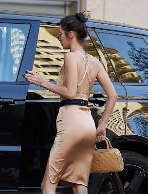 Bella Hadid à Los Angeles le 11 novembre 2016