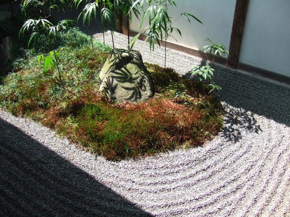 Giardino Zen Buddismo : Boiserie c karesansui giardini di roccia giapponesi