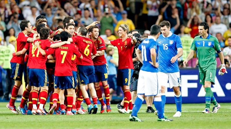 Spania - Italia, 2012