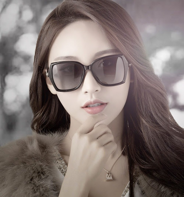 Women's Retro Designer Polarized Sunglasses
