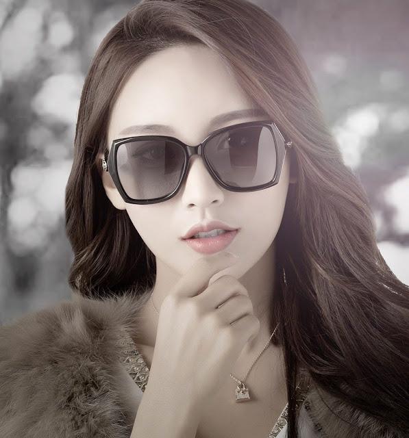 Women's Retro Designer Polarized Sunglasses