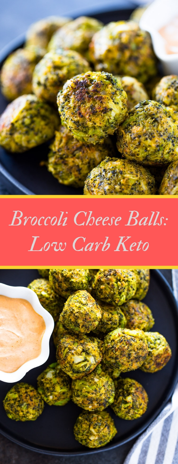 Broccoli Cheese Balls: Low Carb Keto #BROCCOLI #CHEESE #LOWCARB #KETO #LUNCH