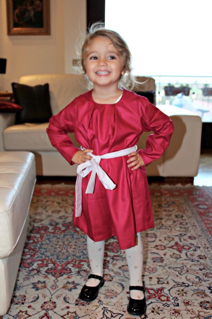 cb58435c7c31 Moda per bambini: un abito rosso da principessa | Cosa Mi Metto???
