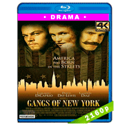Pandillas de Nueva York (2002) 4K UHD Audio Dual Latino-Ingles