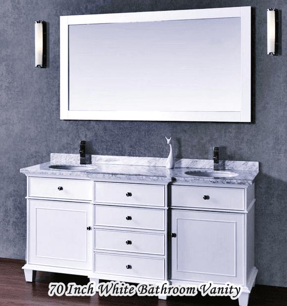 70 Inch Stufurhome Cadence Bathroom Vanity